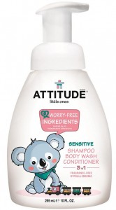 Little Ones Body, Hair, Conditioner Pump - Fragrance Free