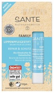 Family Lippenpflegestift extra sensitiv Bio-Sheabutter & Kakaobutter