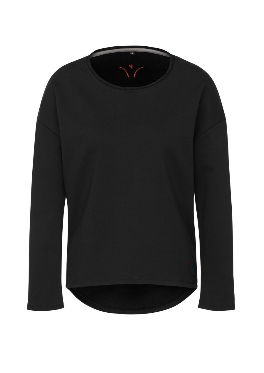 Sweatshirt Casual Pony black