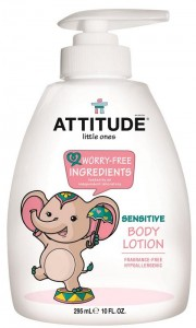 Little Ones Body Lotion Pump - Fragrance Free