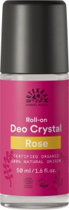 Crystal Deo Roll-On Rose